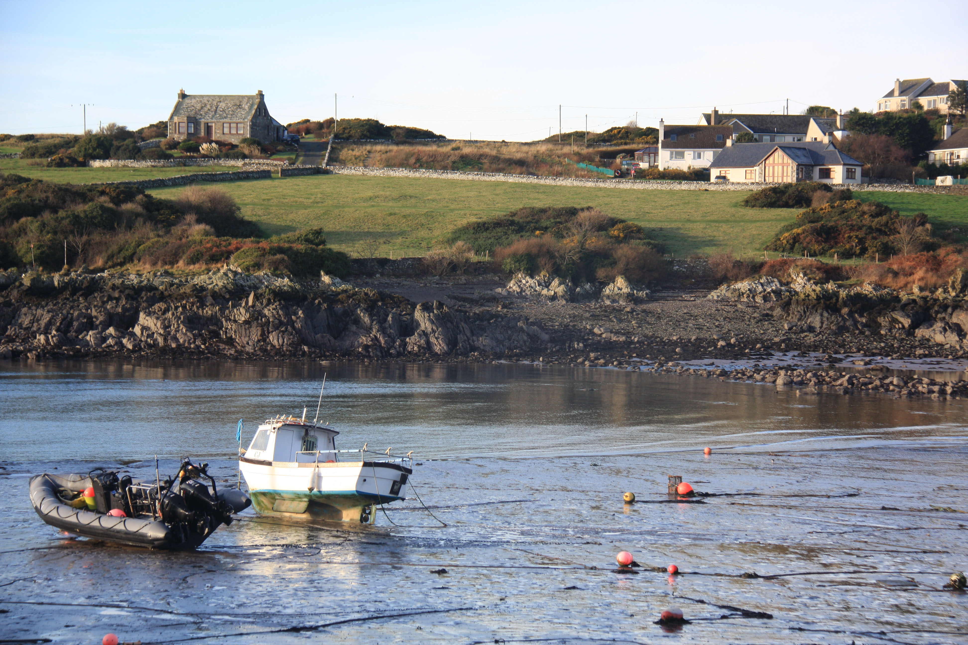 Island or mainland? Isle of Whithorn, Scotland