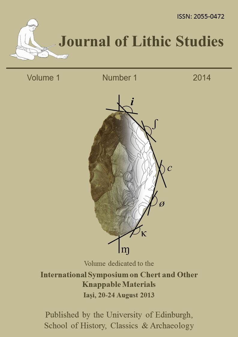 Journal of Lithic Studies, Vol. 1, Nr. 1